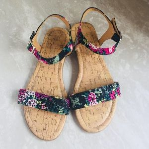 CL by Laundry Floral Studded Sandal